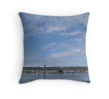 Fanny Bay Landscape 2 Throw Pillow