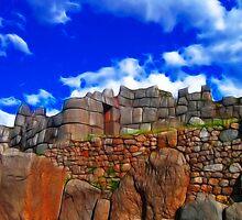 Saqsaywaman Ruins by Nicolas Raymond