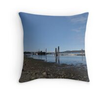 Fanny Bay Landscape 1 Throw Pillow