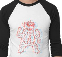 DAIKAIJU BARON - 3D Men's Baseball ¾ T-Shirt