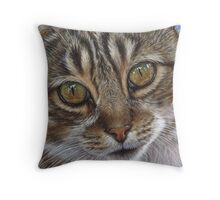 Eyes of Billy Throw Pillow