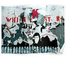 ...and a white picket fence Poster