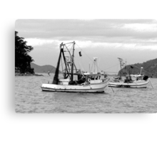 Fishing boats at Pearl Beach 1.2 Canvas Print