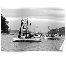 Fishing boats at Pearl Beach 1.2 Poster
