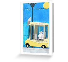 Ice Cream Van Greeting Card