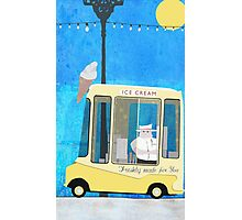Ice Cream Van Photographic Print