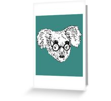 Koala Gandhi Greeting Card