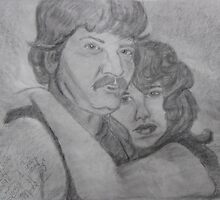Texas Redneck Couple (Tony and Cindy) by janetmarston