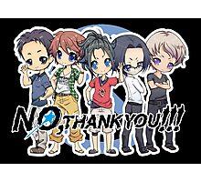 NO, THANK YOU!!! Photographic Print