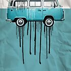vw kombi 2 tone paint job by vinpez