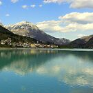 Lake Barcis by HelmD