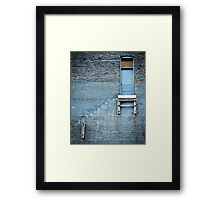 Door to Nowhere Framed Print