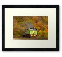 The Green Machine Framed Print