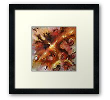 At the end of the rose season Framed Print