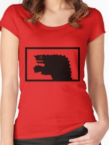 Ultraman Monster Series Women's Fitted Scoop T-Shirt