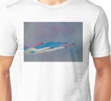 The Red Arrows Painting the Sky Unisex T-Shirt