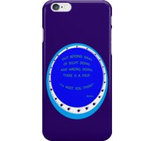 I'LL MEET YOU THERE!~Rumi iPhone Case/Skin