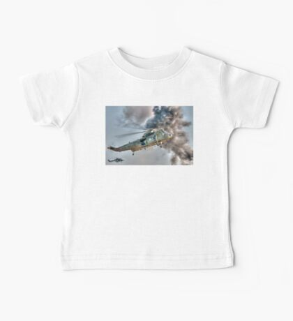 Royal Navy Sea King Helicopter Baby Tee