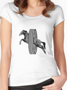 RingRider Women's Fitted Scoop T-Shirt
