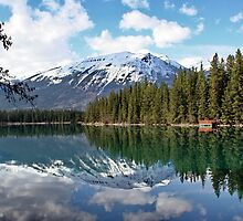 At One with Nature : Lac Beauvert, Jasper, Canada by AnnDixon