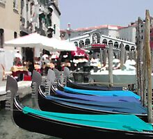 Gondola in 3D... by HelmD