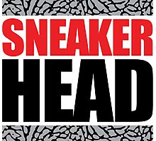 Sneaker Head Elephant Photographic Print