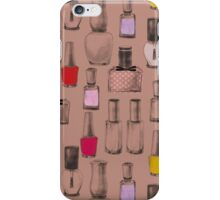 Color Game on Nails - Cocoa iPhone Case/Skin