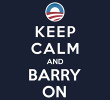 Keep Calm and Barry On T-Shirt