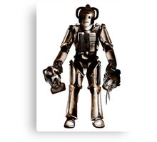 Rogue Cyberman Canvas Print