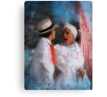 Mind Your Manners! Canvas Print