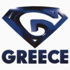"""G"" Shield - Greece by AlexanderMagnus"