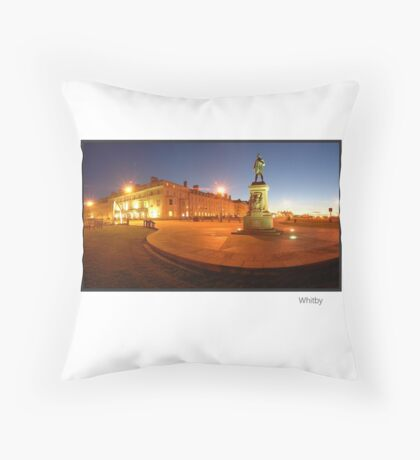 Whitby, North Yorkshire, England Throw Pillow