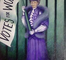 The Suffragette by wendy kernan