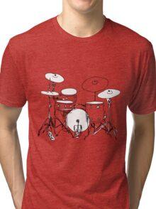 drums Tri-blend T-Shirt