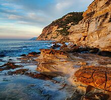 November morning at the beach by Patrick Morand