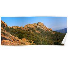 Roquebrune panorama Poster
