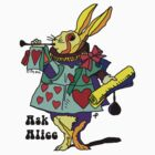 Ask Alice - The White Rabbit 2 by ptelling