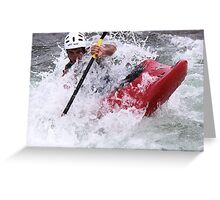 battle with water Greeting Card
