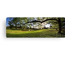 Riversdale Golf Club hole 1 Canvas Print