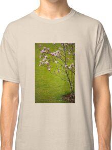 Vibrant pink Magnolia blossoms  Classic T-Shirt