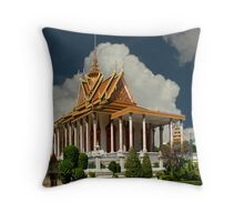 Dominant Temple Throw Pillow