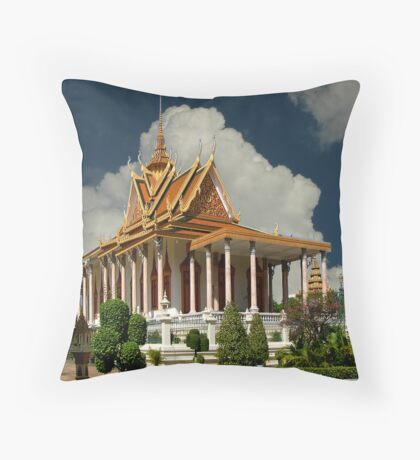 Dominant Temple Throw Pillow