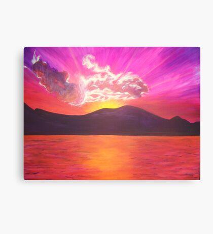PC Sunset Canvas Print