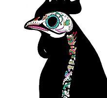 Chicken Skeleton by MariaDiaz