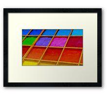 Pigments Framed Print