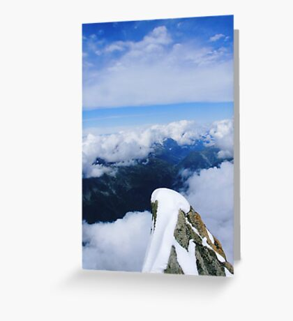 On top of the world... Greeting Card