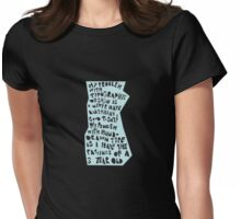 My Problem Womens Fitted T-Shirt