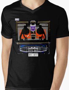 Vintage Soundwave Mens V-Neck T-Shirt