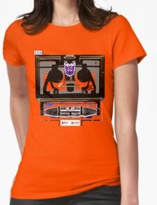 Vintage Soundwave Womens Fitted T-Shirt