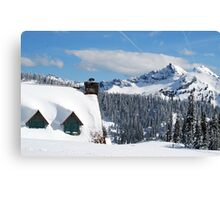 The Lodge at Paradise Canvas Print